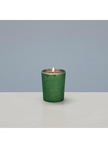 Chakra Crınckle Kokulu Mum Yeşil